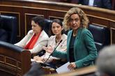 Meritxell Batet, en la sesión de control al Gobierno celebrada el...