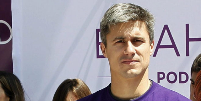 Juanjo Iturria, uno de los junteros de Gipuzkoa sancionados.