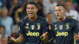 La jugada de la expulsión de Cristiano Ronaldo