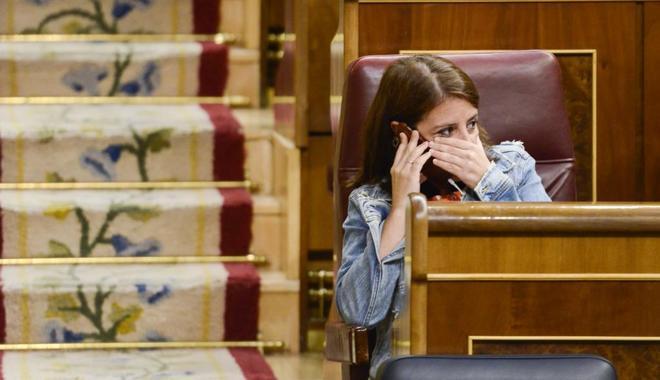 La portavoz de los socialistas en el Congreso, Adriana Lastra.