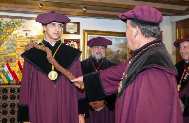Roca Rey, durante el acto de nombramiento