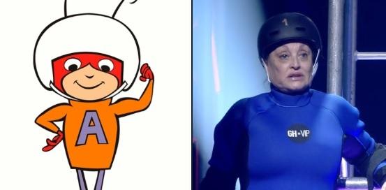 Aramís Fuster disfrazada en GH VIP se convierte en meme en redes...