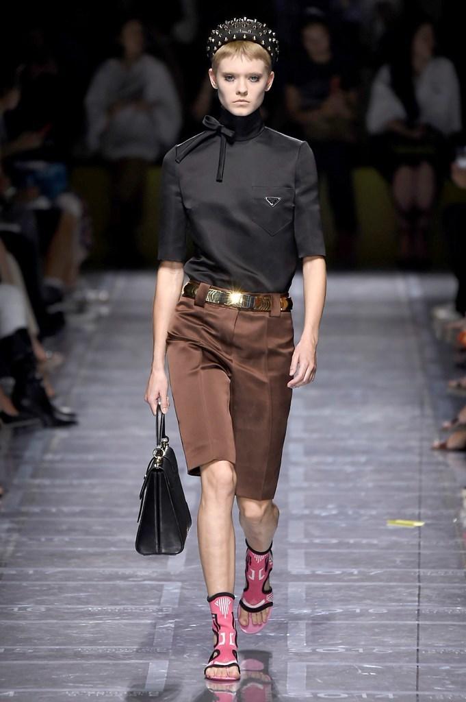 Desfile de Prada - Colección primavera 2019 - Semana de la Moda de...