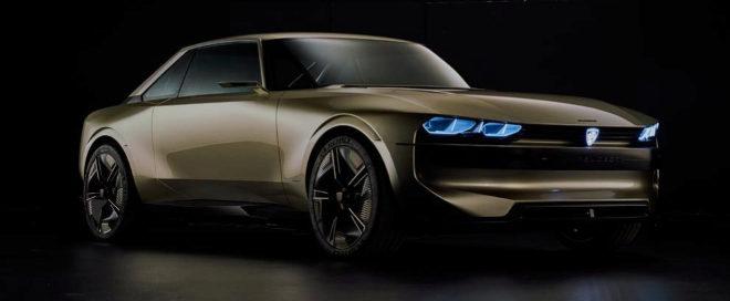 Asi Es El Peugeot E Legend Concept Regreso Al Futuro Con El 504