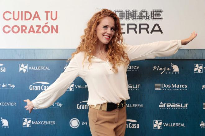 María Castro, durante la presentación de la campaña 'Cuida tu corazón'.