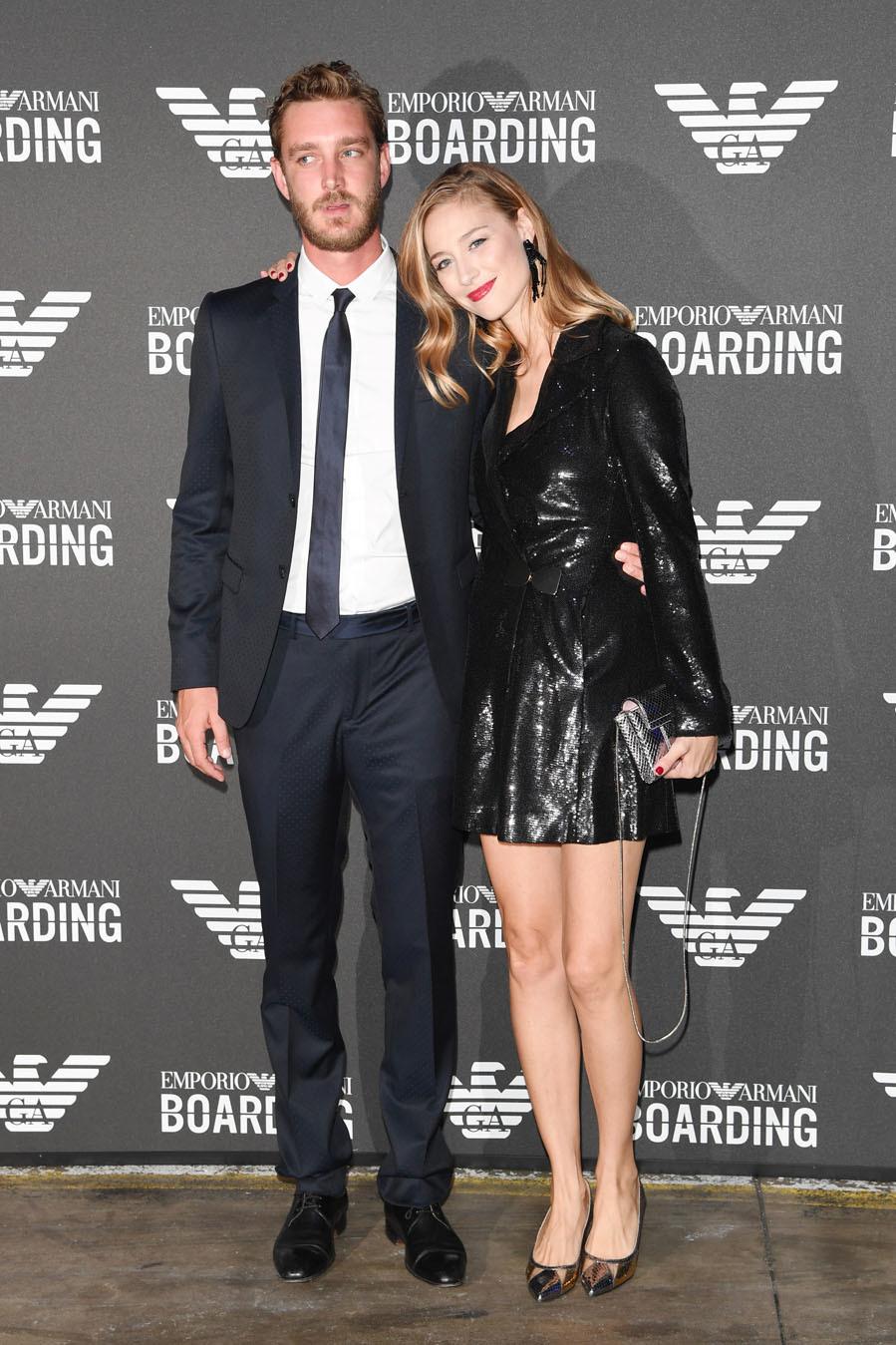 Pierre Casiraghi y Beatrice Borromeo - Los mejores 'looks' de la Semana de la Moda de Milán