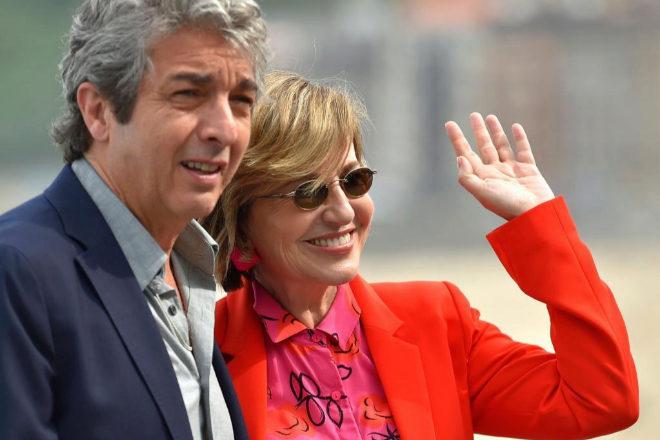 Los protagonistas de 'El amor menos pensado', Ricardo Darín y...