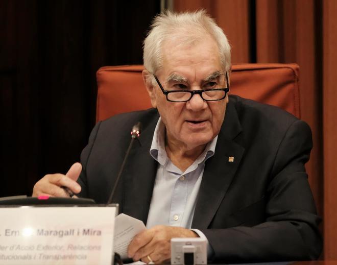 El conseller Ernest Maragall