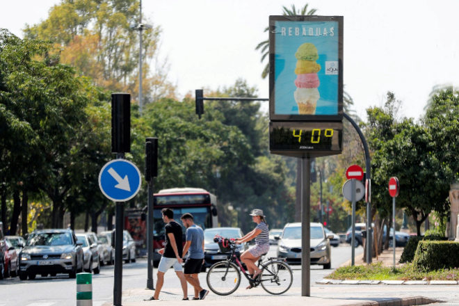 Córdoba y Badajoz rozan los 40 grados el primer día de otoño
