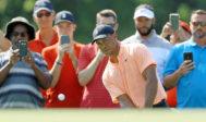 Woods, durante el Tour Championship finalizado anoche en Atlanta.