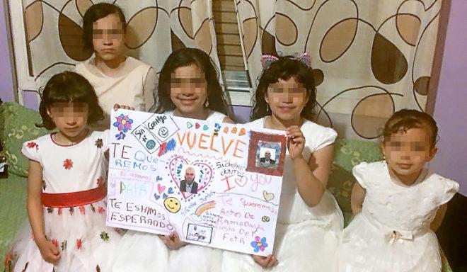 Las cinco hijas del imam expulsado a Egipto que aún residen en...