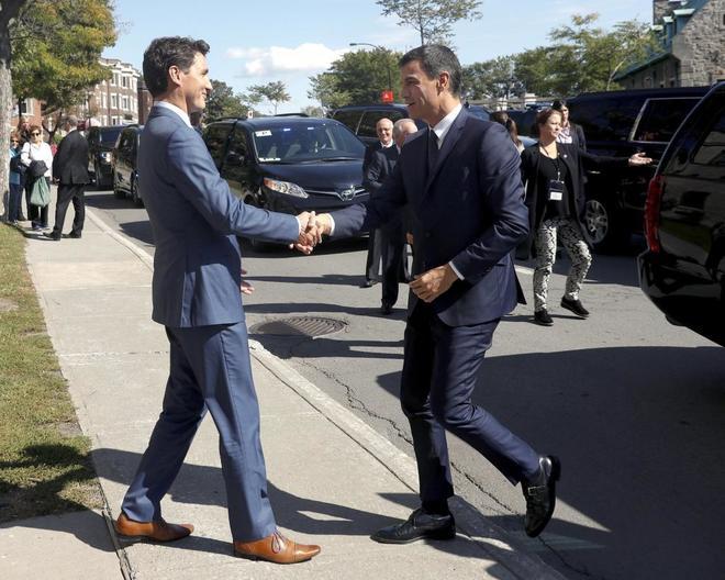 Justin Trudeau y Pedro Sánchez: Dos hombres y un estilo