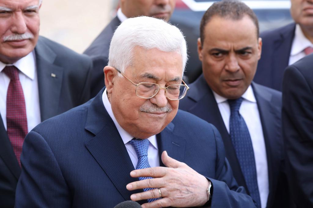 El presidente de la Autoridad Nacional Palestina, Abu Mazen.