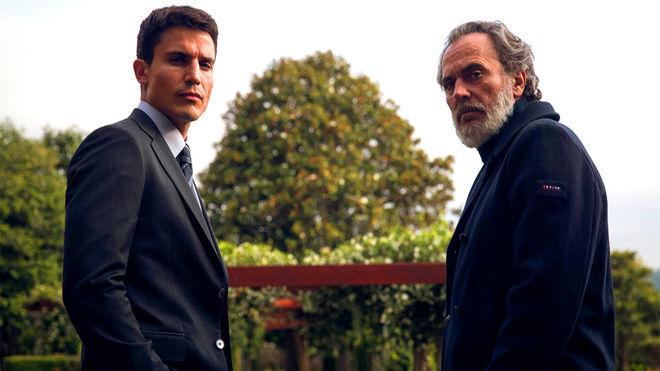 Álex González y José Coronado son los protagonistas de Vivir sin...