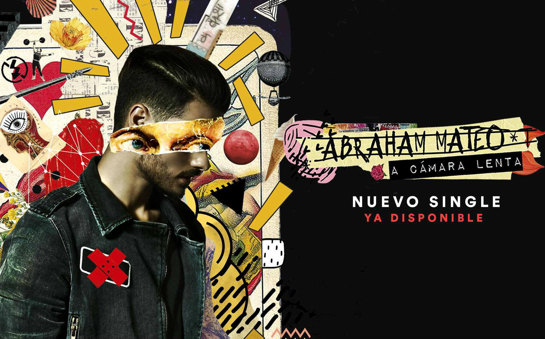 Imagen promocional de A camára lenta, la nueva canción de Abraham...