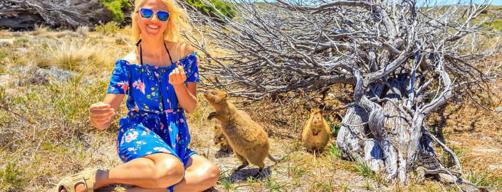 Rottnest, la isla donde habita el animal más feliz del planeta
