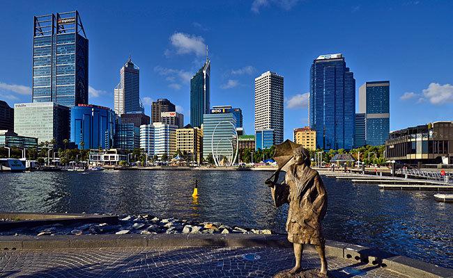 Lo que esconde Perth, la ciudad más remota del mundo