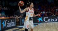 Anna Cruz, durante el partido contra Puerto Rico del domingo.