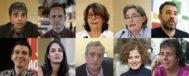 En la imagen, los diez concejales de Ahora Madrid que Manuela Carmena quiere que repitan.