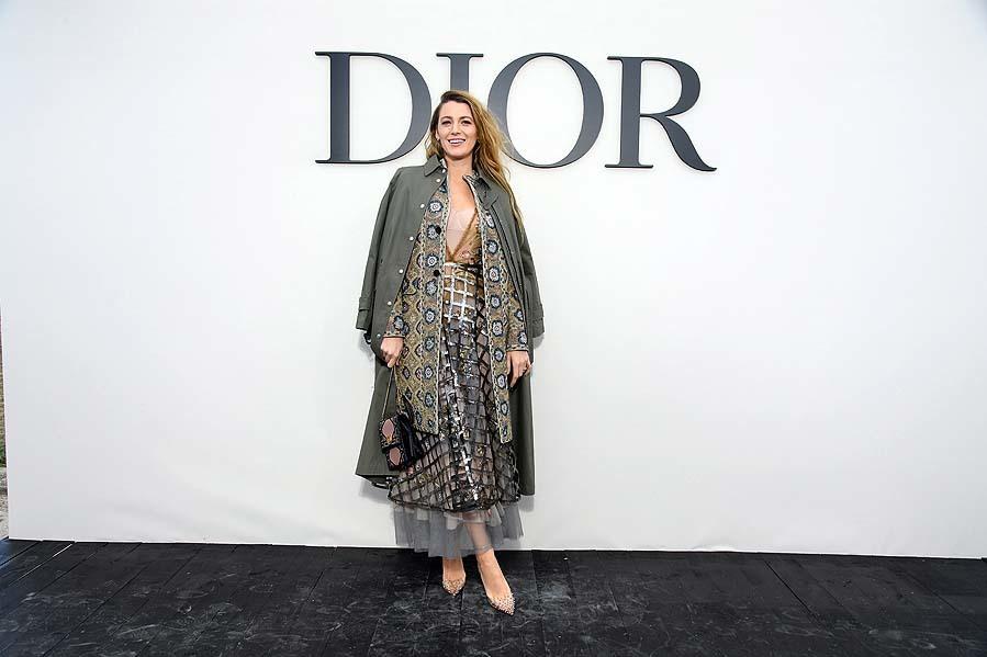 Blake Lively - Famosos en el desfile de Dior - Primavera/verano 2019 - Semana de la Moda de París