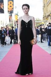 La actriz ha lucido uno de los mejores l'ooks' de la alfombra roja del...