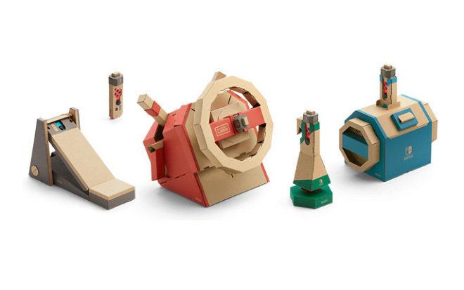 Nintendo Labo Vehicule Kit: el cartón de Nintendo aún parece mágico