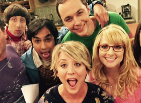 Los protagonistas de The Big Bang Theory.