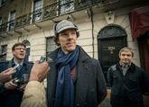 Benedict Cumberbatch hace de Sherlock y evita un robo en Londres