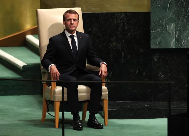 Emmanuel Macron apela al diálogo frente al 'America First' de Donald Trump