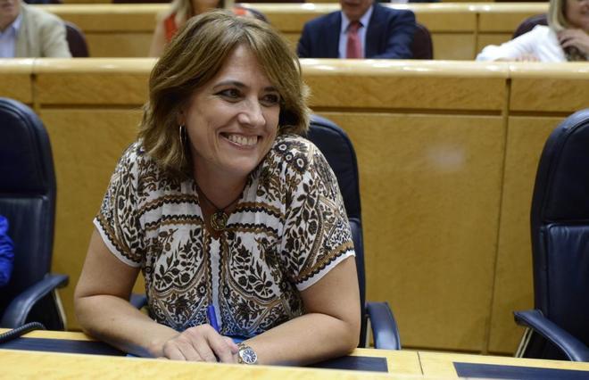 Dolores Delgado, reprobada por el Senado por