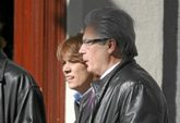 Baltasar Garzón y Dolores Delgado, juntos en un acto celebrado en...