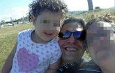 El parricida de Castellón, en una imagen junto a su mujer y una de...