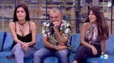 Miriam Saavedra, El Koala e Isa Pantoja antes de conocer la decisión...