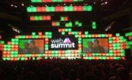 Una de las conferencias del 'Web Summit' celebrado en Lisboa.
