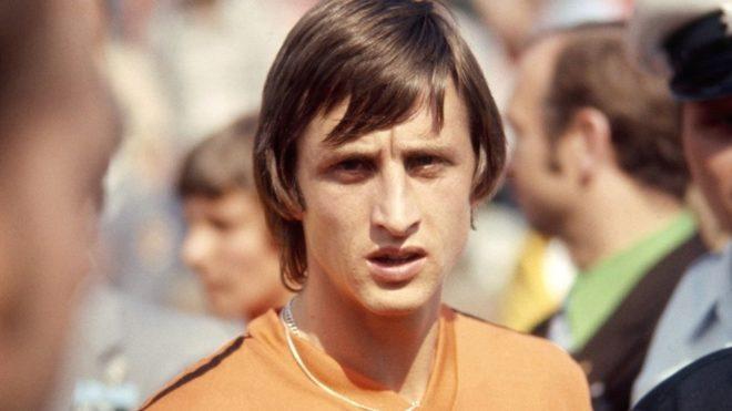 El jugador y entrenador holandés, Johan Cruyff
