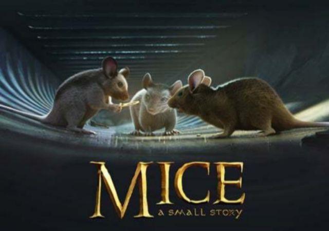 Portada del corto 'Mice, a small story', un cortometraje inspirado en...