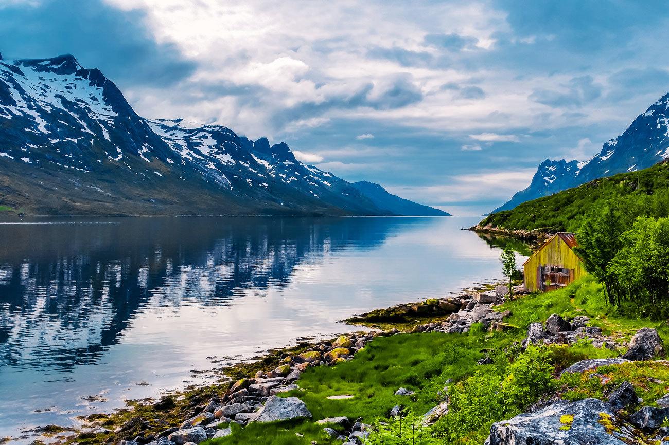 La localidad de Tromso, en el norte de Noruega, encabeza la lista de...