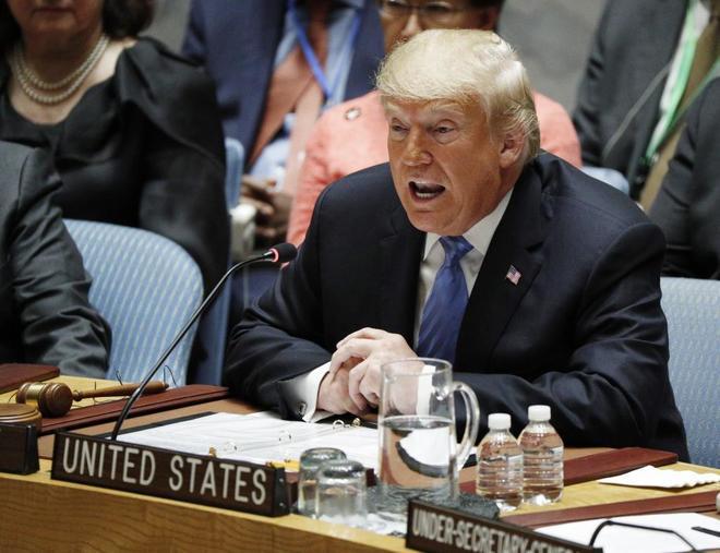 Donald Trump dice que está abierto a reunirse con Nicolás Maduro en la ONU si él quiere