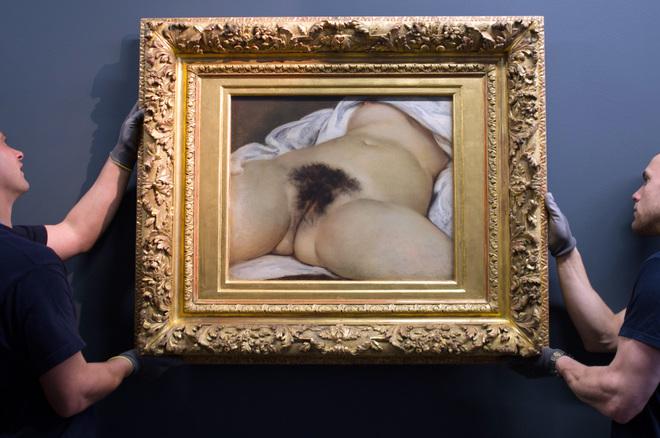 ARTE / HISTORIA: a vagina más polémica de la pintura ya tiene rostro