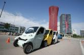 El vehículo Esprit, coche eléctrico de uso compartido
