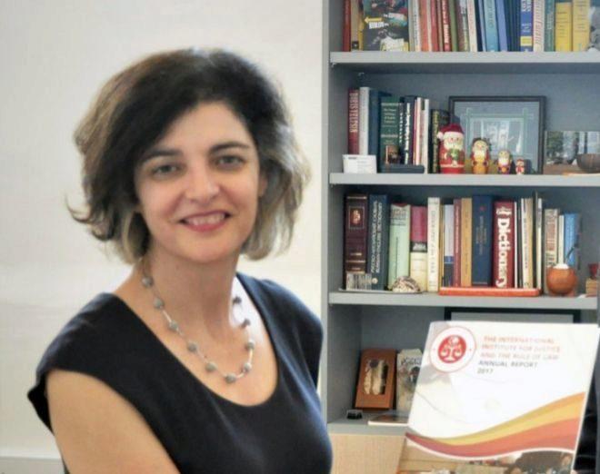 Consuelo Femenía, en una foto reciente compartida en Twitter.