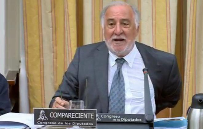 Pere Navarro, director general de Tráfico, durante su intervención