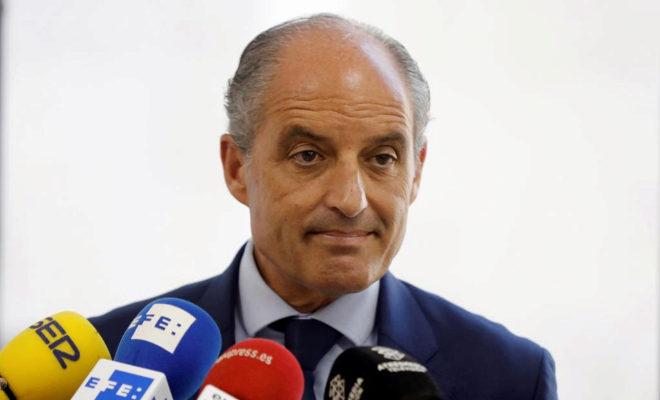 El expresidente de la Generalitat, Francisco Camps.