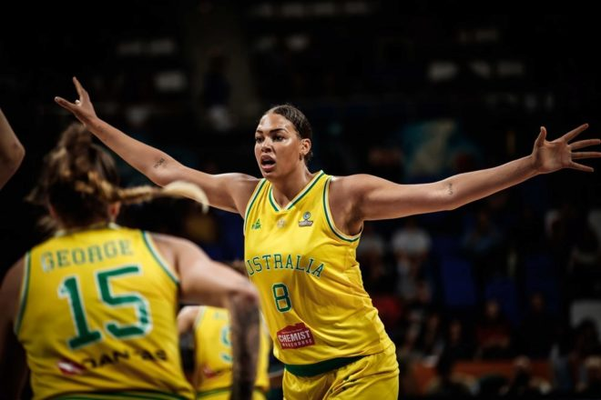 liz cambage the giant smile that threatens spain international news