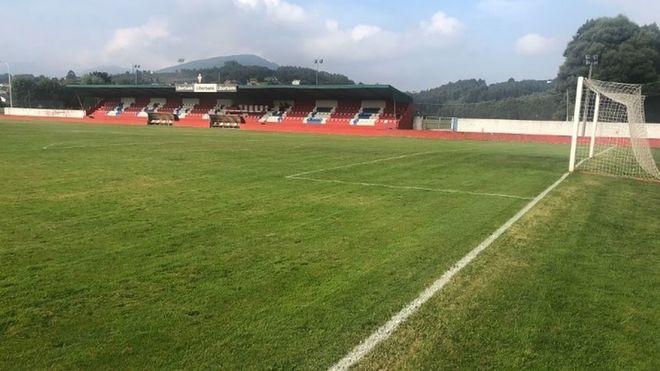 Instalaciones del campo de fútbol El Pardo, donde disputa sus...