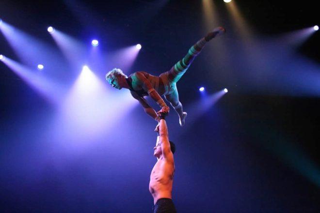 Momento del espéctaculo,  'La Bouche, The Show', que estará en Alicante hasta el 21 de octubre.