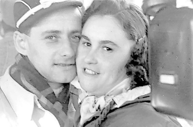 Lale y Gita, en una de sus fotografías tras salir de Alemania. Estuvieron seis décadas juntos.
