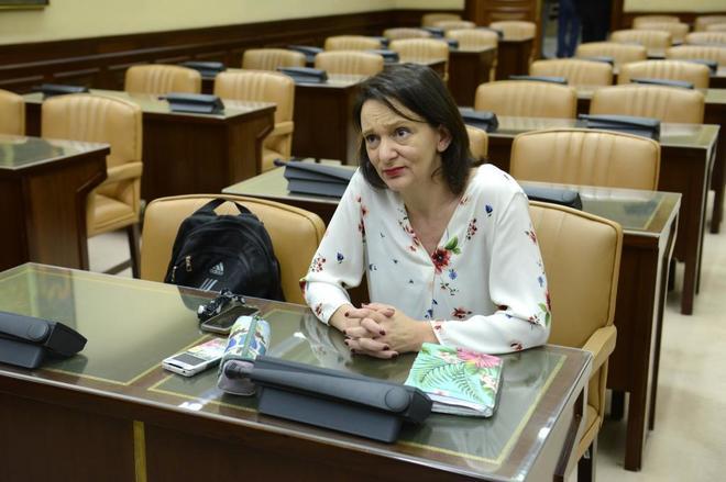 La diputada de Podemos, Carolina Bescansa