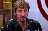 El actor Iván Massagué durante su despedida del concurso de TVE...