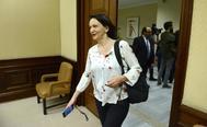 Carolina Bescansa, el pasado abril en el Congreso.